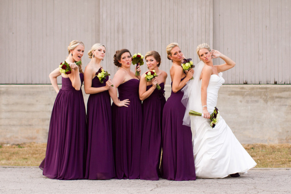 Bride and Her Bridesmaids Orlando 9766