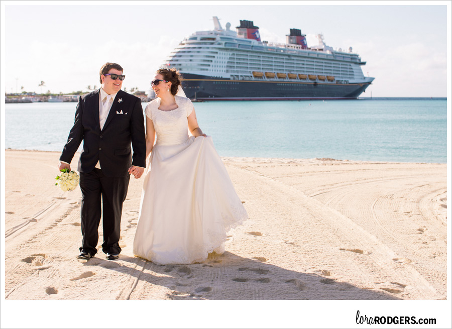 Disney Cruise Wedding Photography by Lora Rodgers1