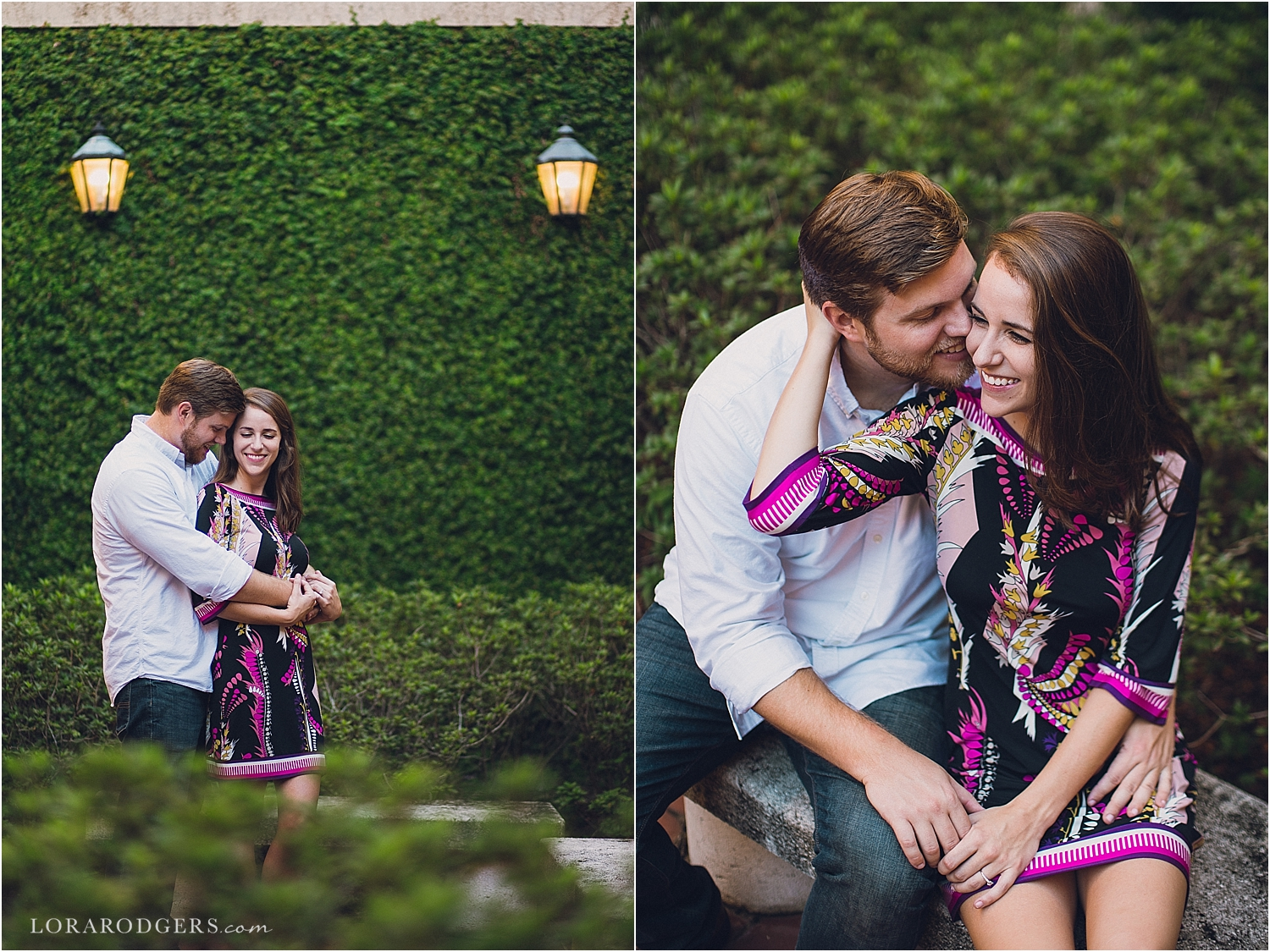 Rollins College Winter Park Florida Engagement Session