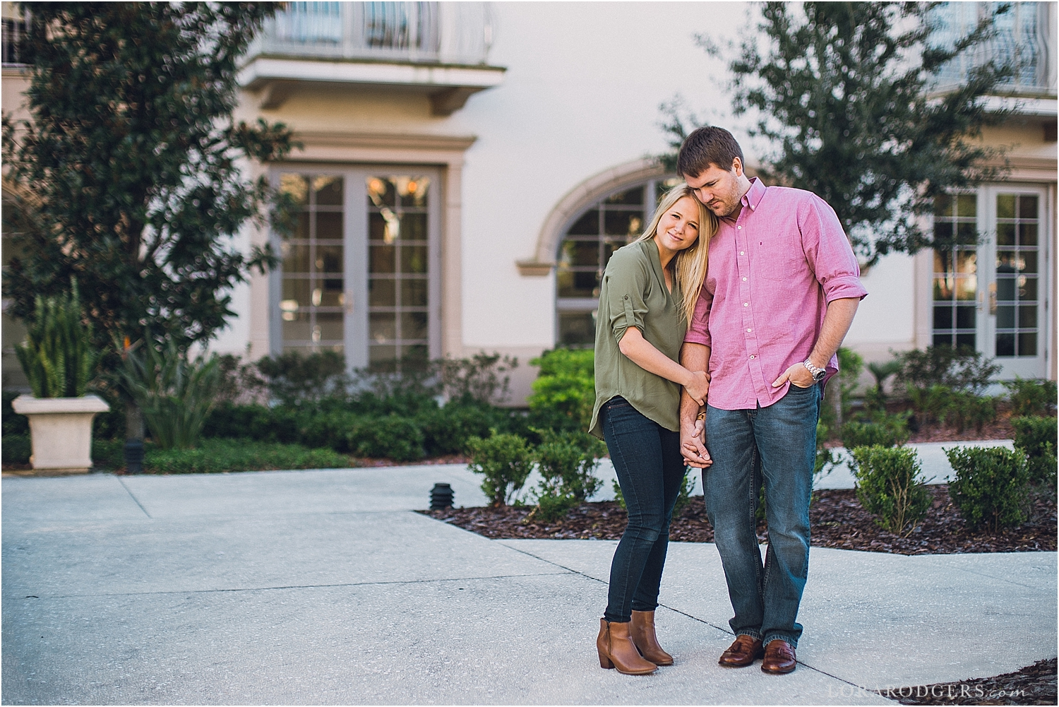 Winter Park Florida Engagement Session
