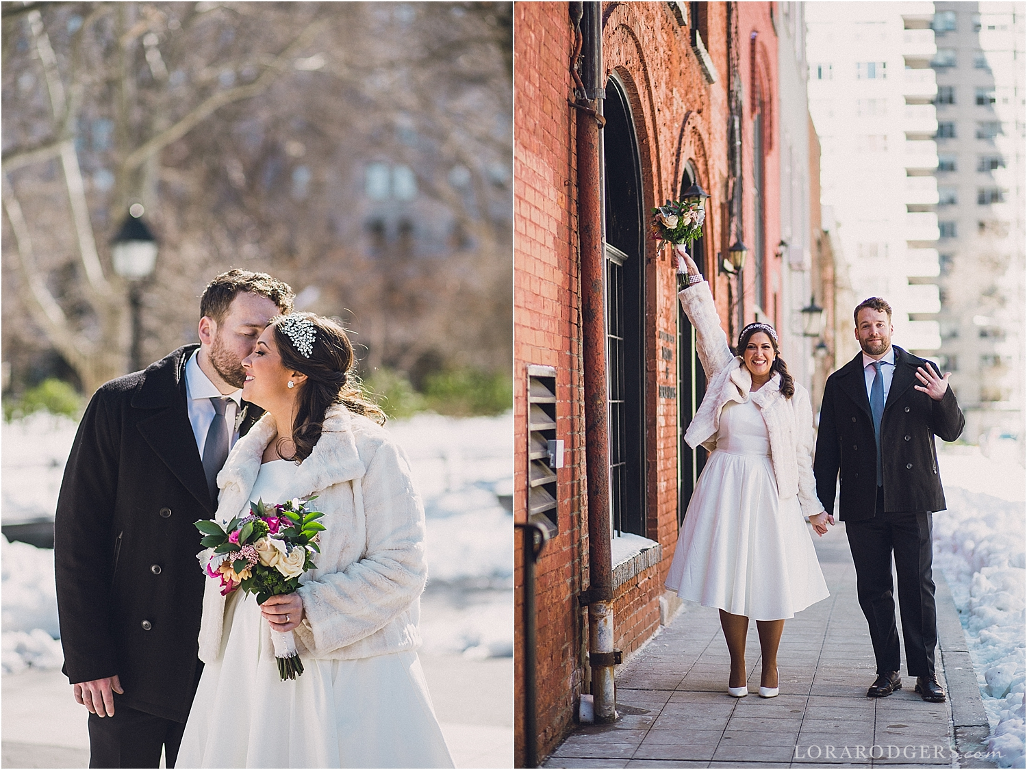 New York City Elopement Wedding Day