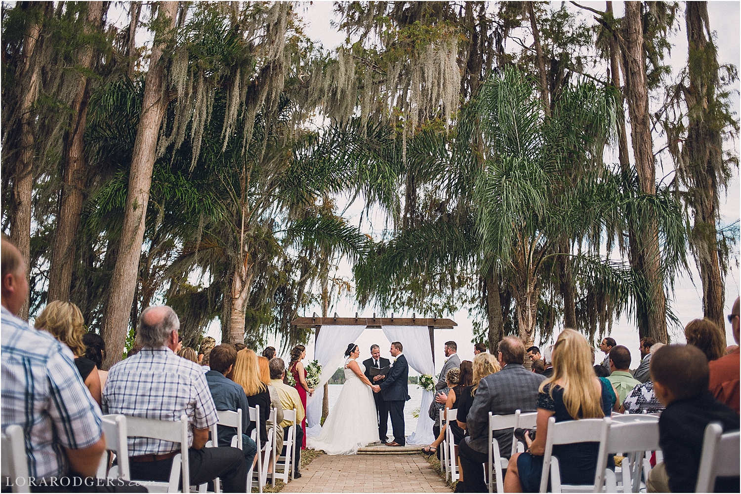 Paradise Cove Wedding Day Orlando Florida