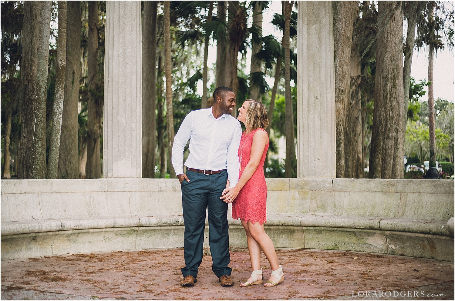 Kraft Azalea Rollins College Engagement Session
