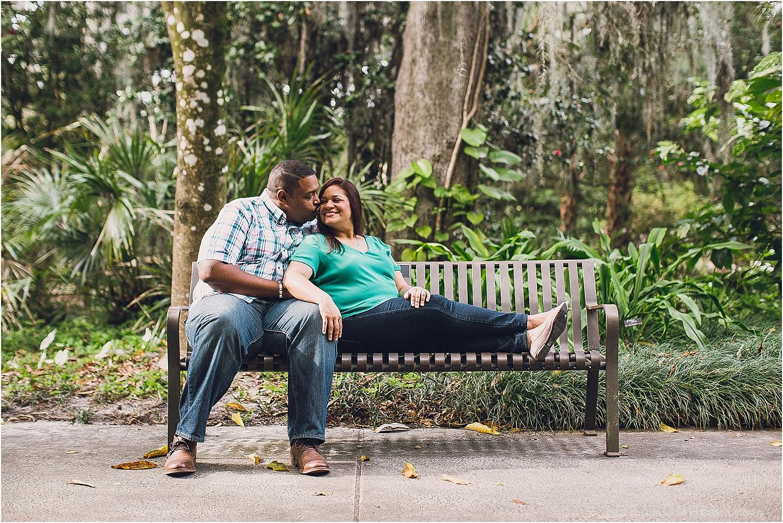Thornton Park Engagement Session Orlando
