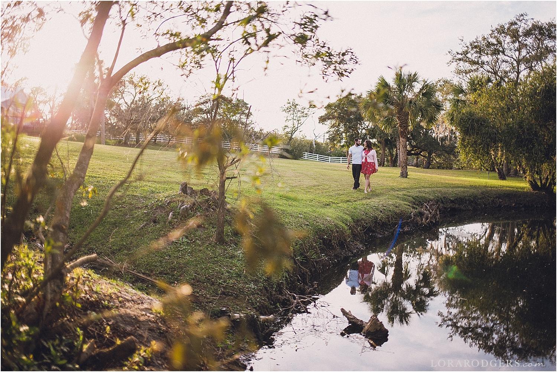 Up The Creek Farms Malabar Florida Engagement