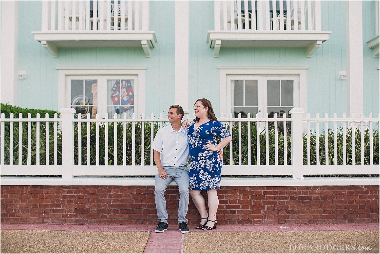 Disney Boardwalk Resort Orlando Florida Engagement Session