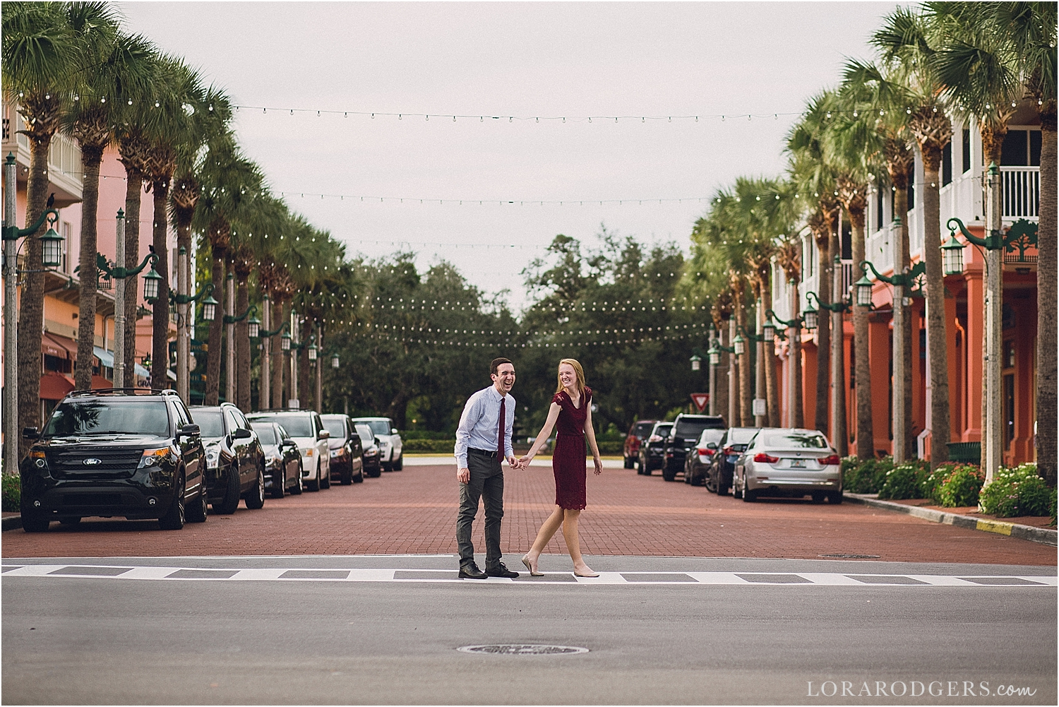 Downtown kissimmee wedding