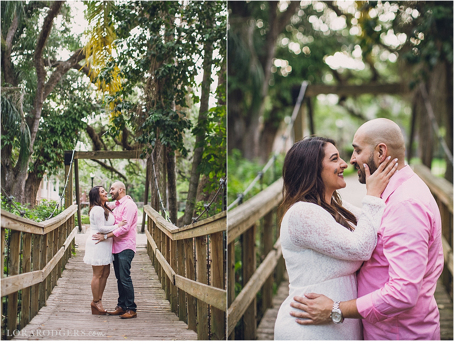 Langford Park Downtown Orlando Engagement Session Florida