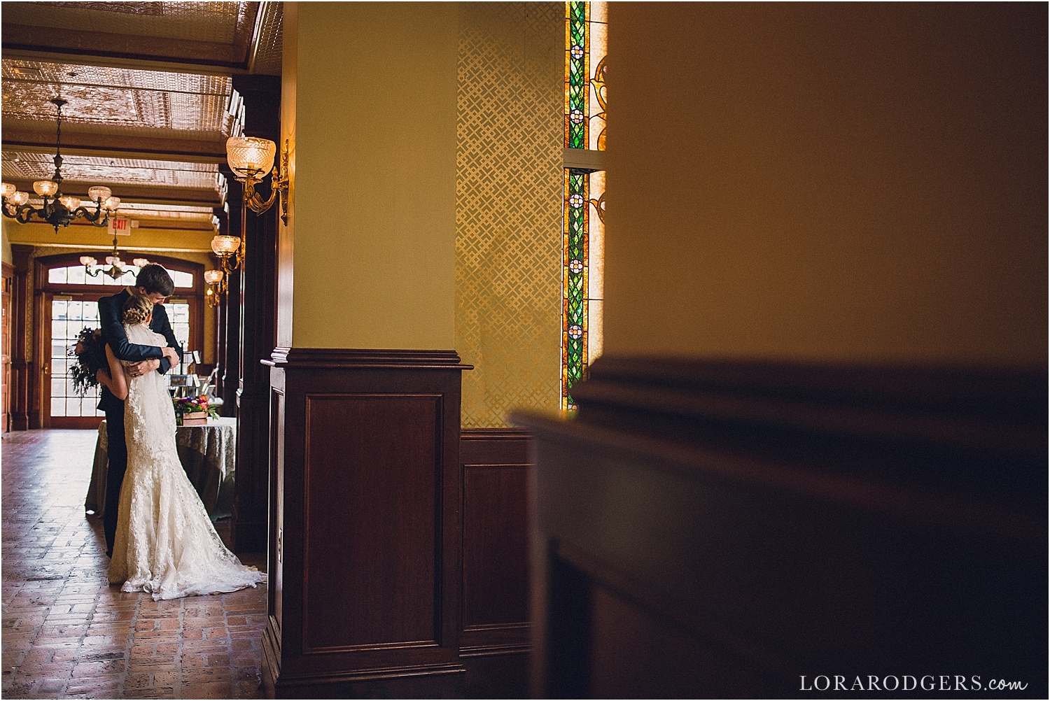The Ballroom at Church Street Downtown Orlando Florida Wedding