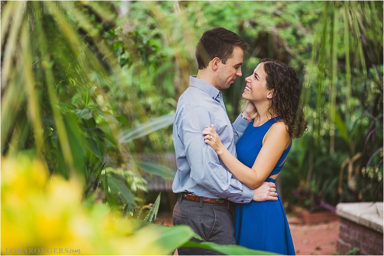 Leu Gardens Engagement Session Winter Park Florida Photographer