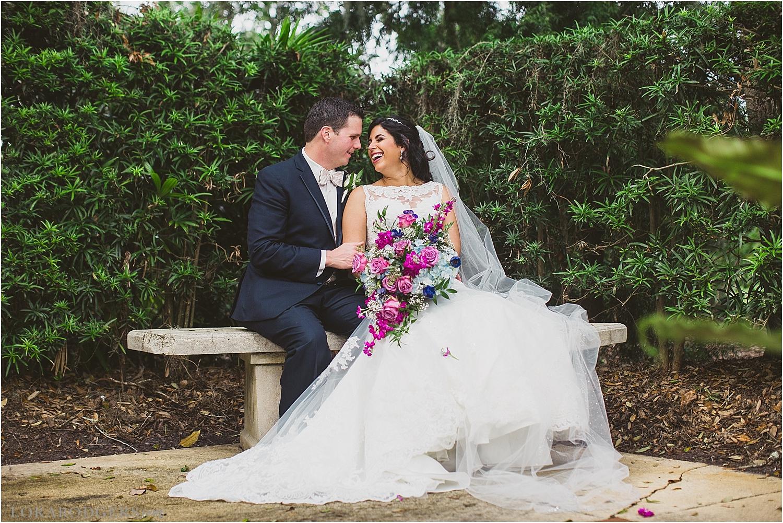 Leu Gardens Winter Park Florida Wedding Photographer